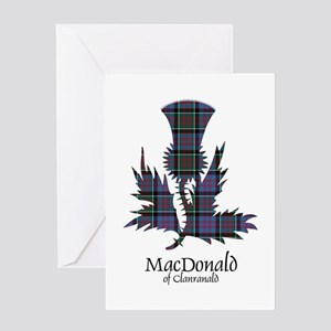 Thistle-MacDonald of Clanranald Greeting Card