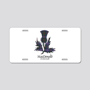 Thistle-MacDonald of Clanra Aluminum License Plate