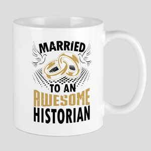 Married To An Awesome Historian Mugs