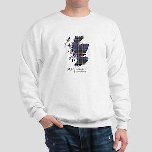 Map-MacDonald of Clanranald Sweatshirt