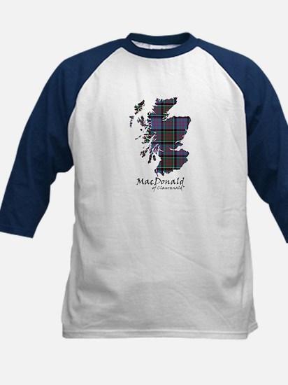 Map-MacDonald of Clanranald Kids Baseball Jersey