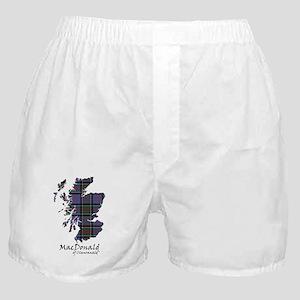 Map-MacDonald of Clanranald Boxer Shorts