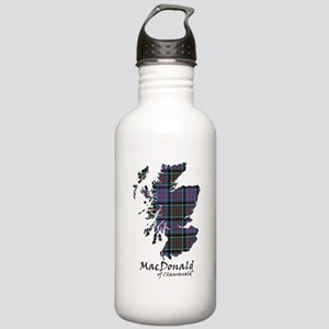 Map-MacDonald of Clanr Stainless Water Bottle 1.0L