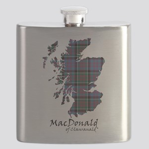 Map-MacDonald of Clanranald Flask