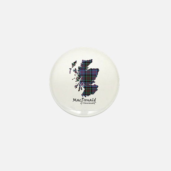 Map-MacDonald of Clanranald Mini Button