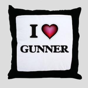 I love Gunner Throw Pillow