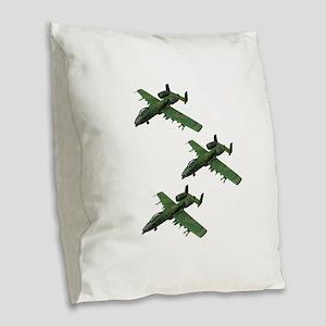 FORMATION Burlap Throw Pillow