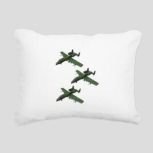 FORMATION Rectangular Canvas Pillow