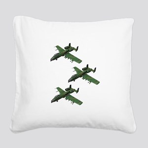 FORMATION Square Canvas Pillow