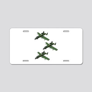 FORMATION Aluminum License Plate