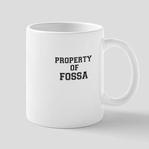 Property of FOSSA Mugs