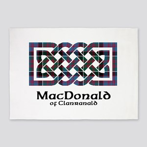 Knot-MacDonald of Clanranald 5'x7'Area Rug