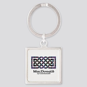 Knot-MacDonald of Clanranald Square Keychain
