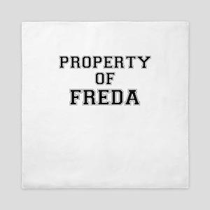 Property of FREDA Queen Duvet
