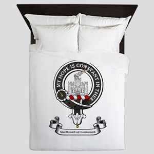 Badge-MacDonald of Clanranald Queen Duvet