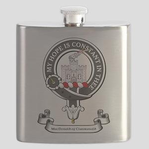 Badge-MacDonald of Clanranald Flask