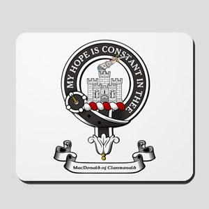 Badge-MacDonald of Clanranald Mousepad