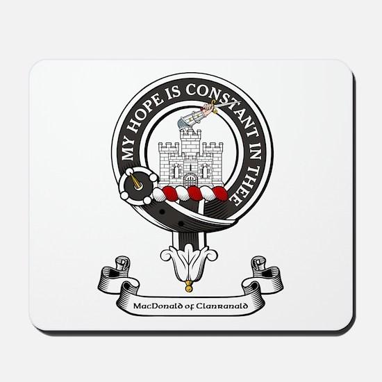 Badge-MacDonald of Clanranald Mousepad