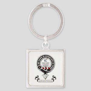 Badge-MacDonald of Clanranald Square Keychain