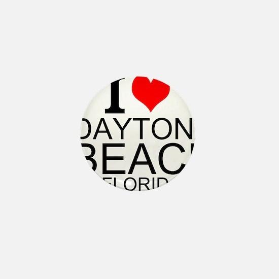 I Love Daytona Beach, Florida Mini Button