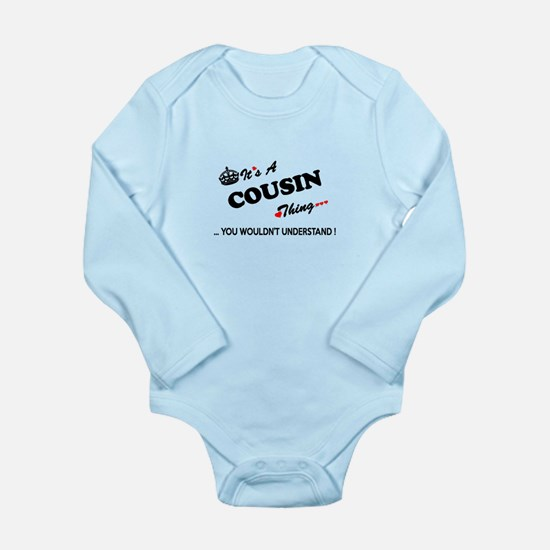 COUSIN thing, you wouldn't understand Body Suit