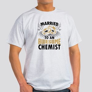 Married To An Awesome Chemist T-Shirt