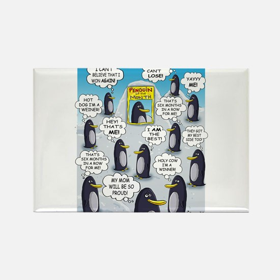 Penguin of the Month Magnets