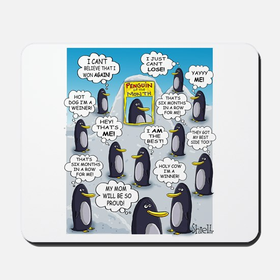 Penguin of the Month Mousepad