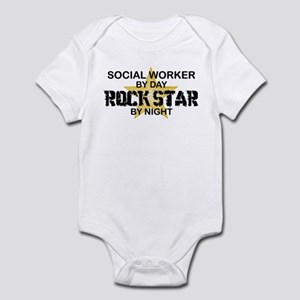 Social Worker Rock Star Infant Bodysuit