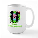 Stop Global Warming Large Mug