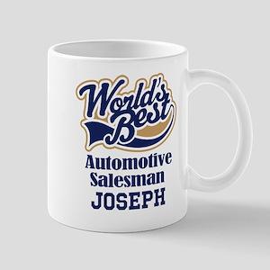 Automotive Salesman Personalized Gift Mugs