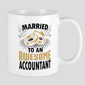 Married To An Awesome Accountant Mugs