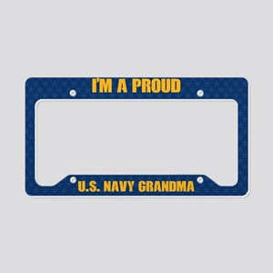 U.S. Navy Grandma License Plate Holder