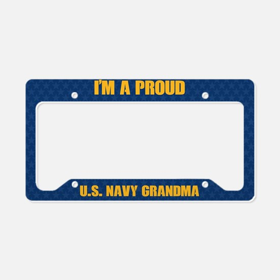 U.S. Navy Grandma License Plate Holder