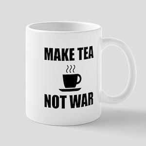 Make Tea Not War Mugs