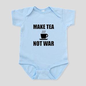 Make Tea Not War Body Suit