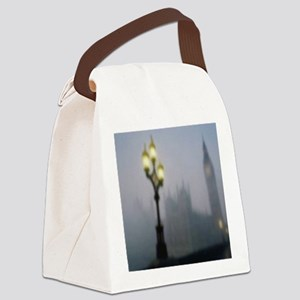 London Fog Canvas Lunch Bag