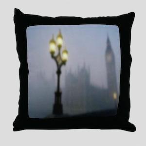 London Fog Throw Pillow