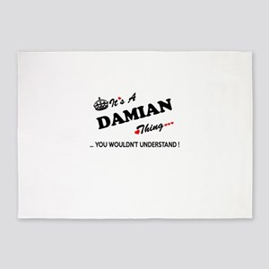 DAMIAN thing, you wouldn't understa 5'x7'Area Rug