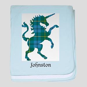 Unicorn - Johnston baby blanket
