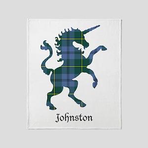 Unicorn - Johnston Throw Blanket