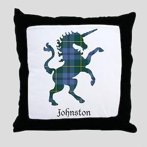 Unicorn - Johnston Throw Pillow