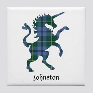 Unicorn - Johnston Tile Coaster
