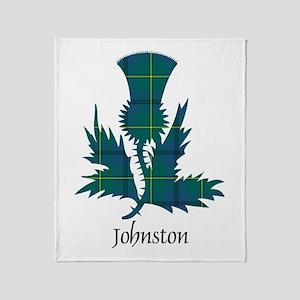 Thistle - Johnston Throw Blanket