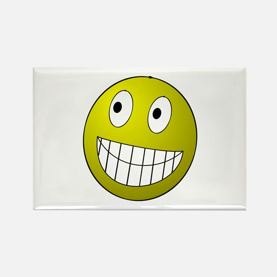 Smile! Rectangle Magnet