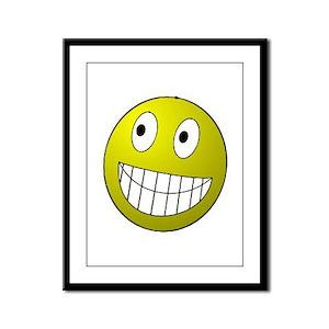 Smile! Framed Panel Print