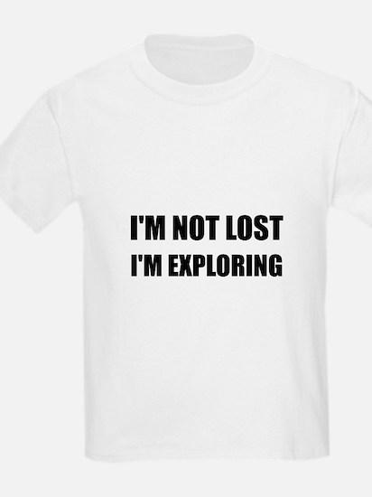 Not Lost Exploring T-Shirt