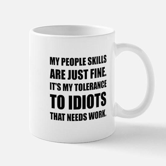 People Skills Idiots Mugs