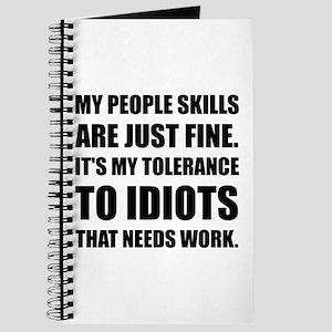 People Skills Idiots Journal