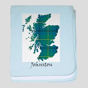 Map - Johnston baby blanket